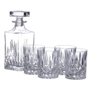 Royal Doulton Decanter with Double Old Fashioned Glasses 5-piece Set