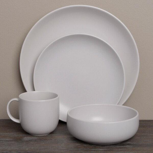 Royal Doulton Mode Putty 4-piece Place Setting