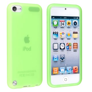 BasAcc Green Silicone Skin Case for Apple� iPod touch Generation 5