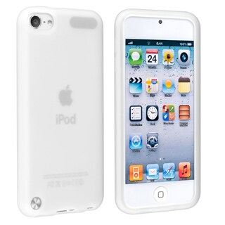 INSTEN Clear Soft Silicone Skin iPod Case Cover for Apple iPod touch Generation 5