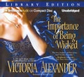 The Importance of Being Wicked: Library Edition (CD-Audio)