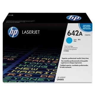 HP 642A (CB401AG) Cyan Original LaserJet Toner Cartridge for US Gover