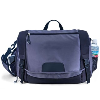 G. Pacific by Traveler's Choice Messenger Bag with Memory Foam Laptop Compartment