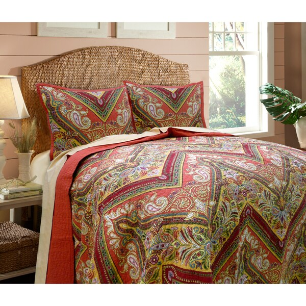 Tangiers Quilt and Sham Separates