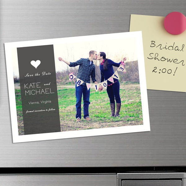 DIY Save the Date (50) Magnets
