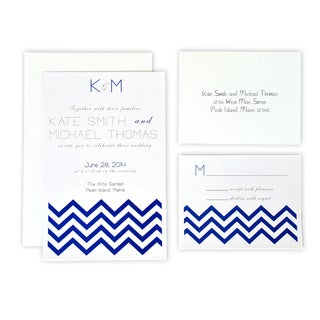DIY White Invitation Kit