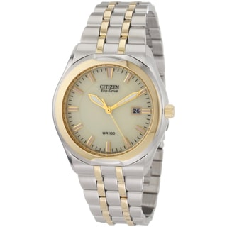 Citizen Men's Two-tone Steel Eco-Drive Watch