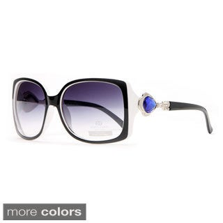 Anais Gvani Women's Jeweled Accent Sunglasses