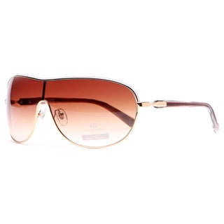 Anais Gvani Women's Shield Frame Sunglasses
