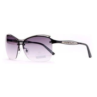 Anais Gvani Women's Peak-through Arm Sunglasses