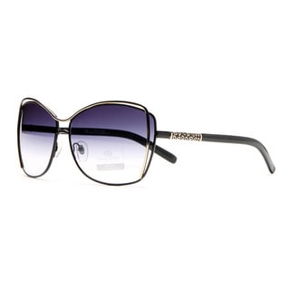 Anais Gvani Women's AG-U042 Mini Gold Ellipse Sunglasses