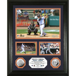 Miguel Cabrera Triple Crown Silver Coin Photomint