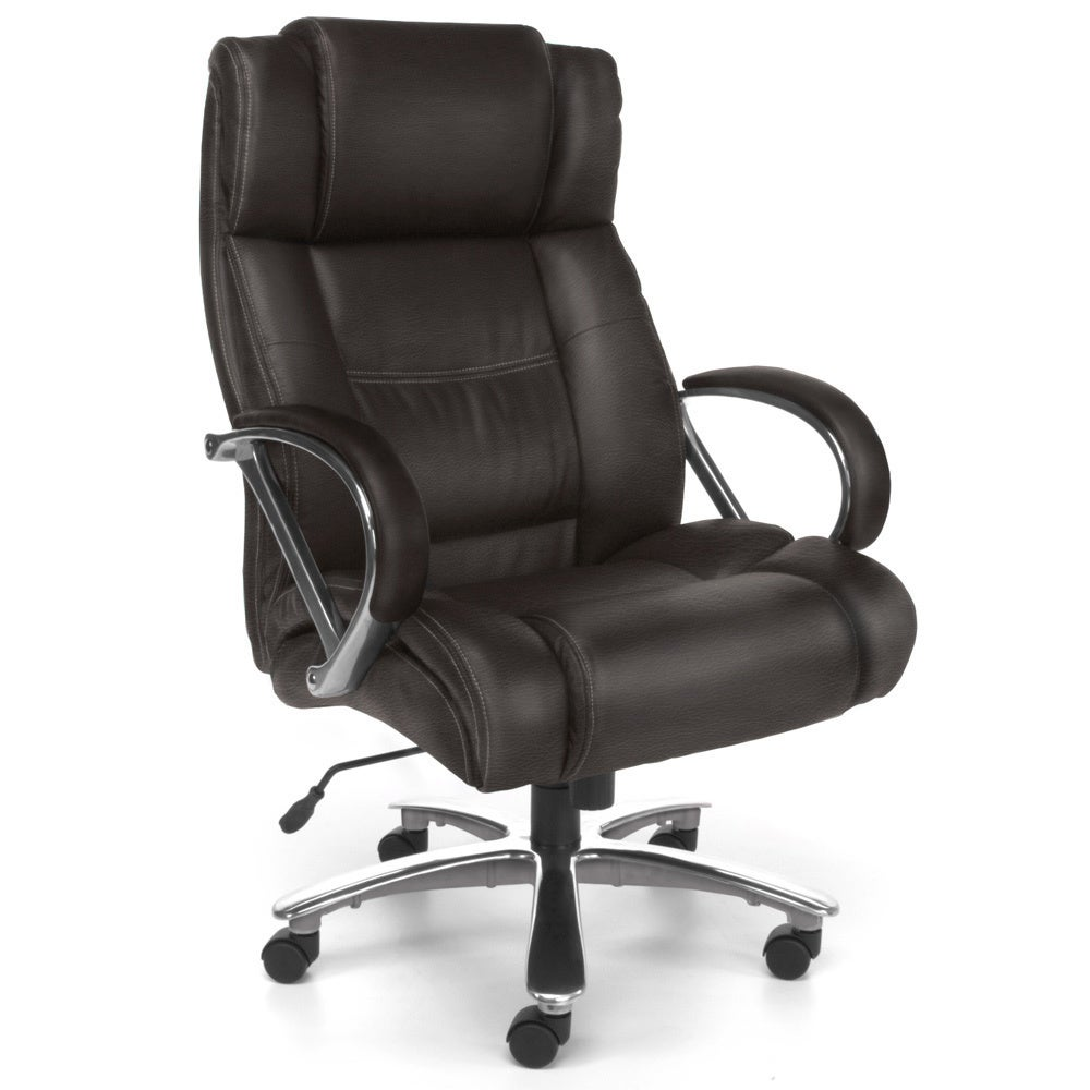 OFM 810-LX High Back Big and Tall Executive Chair 500LB tested at Sears.com