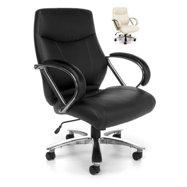 OFM 811-LX Mid Back Big and Tall Executive Chair