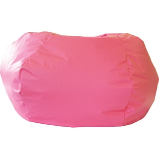 Gold Medal Hot Pink Small/ Toddler Leather Look Vinyl Bean Bag