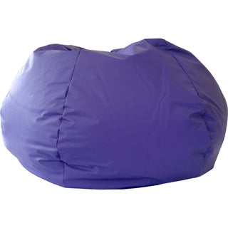 Gold Medal Purple Small/ Toddler Leather Look Vinyl Bean Bag