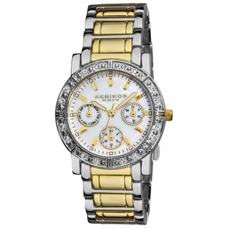 Akribos XXIV Women's Crystal Multifunction Bracelet Watch