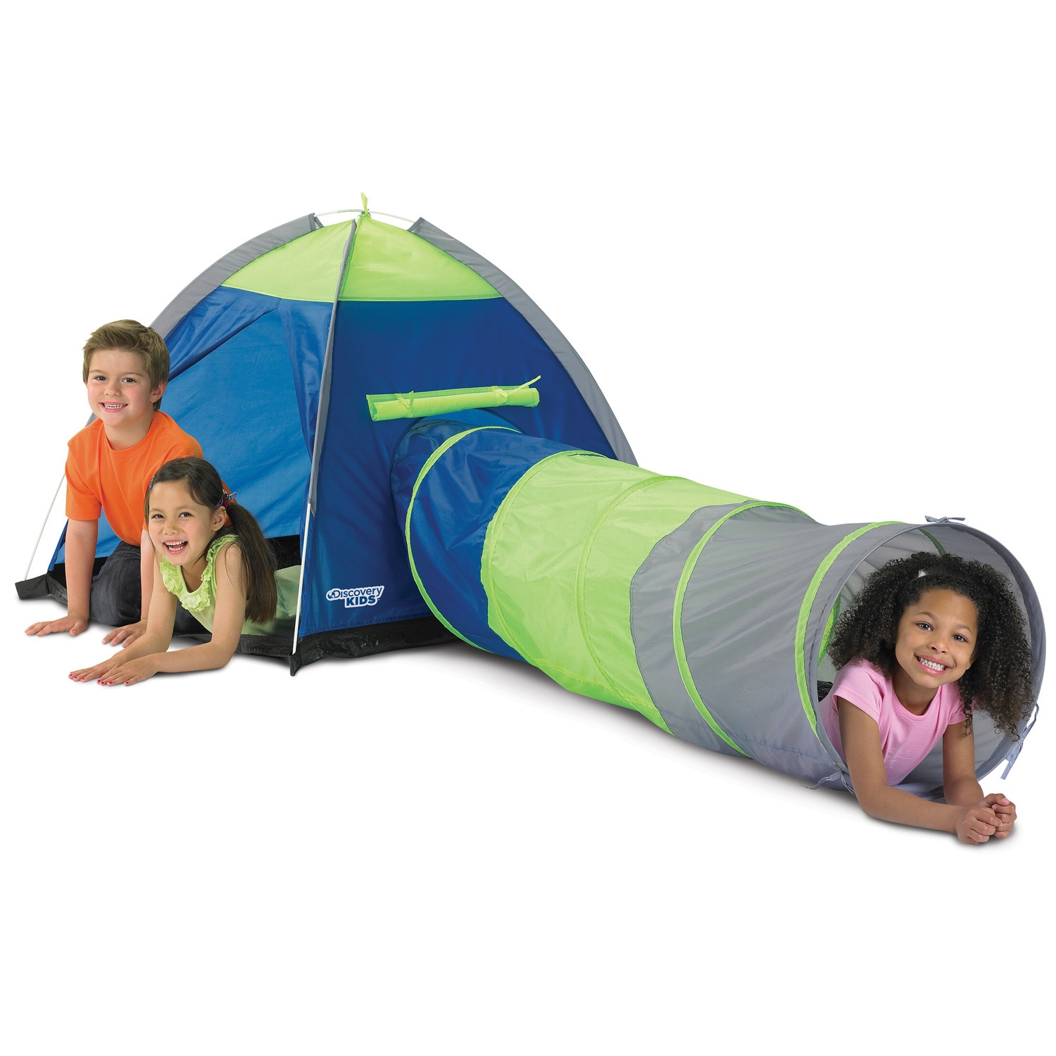 discovery kids adventure play tent overstock shopping. Black Bedroom Furniture Sets. Home Design Ideas