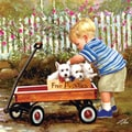 Masterpieces 1000-piece 'Puppy Love' Jigsaw Puzzle (25x25)