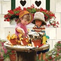 Masterpieces Little Potters 1000-piece Jigsaw Puzzle (25x25)