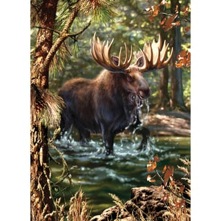Masterpieces 'Moose Crossing' 1000-piece Jigsaw Puzzle