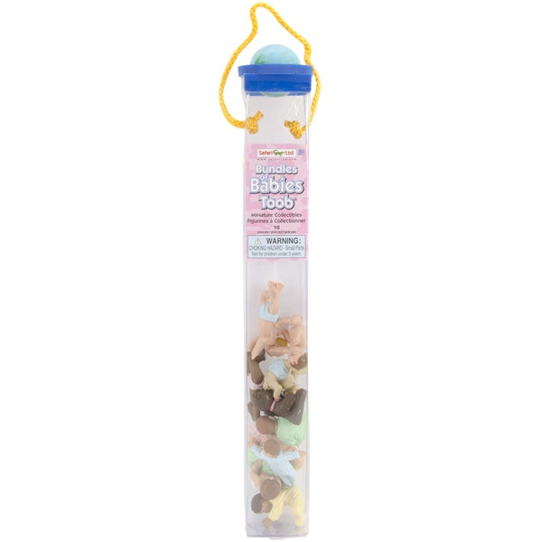 Safari Ltd 'Bundles Of Babies' Plastic Miniatures In Toobs (Pack of 10)