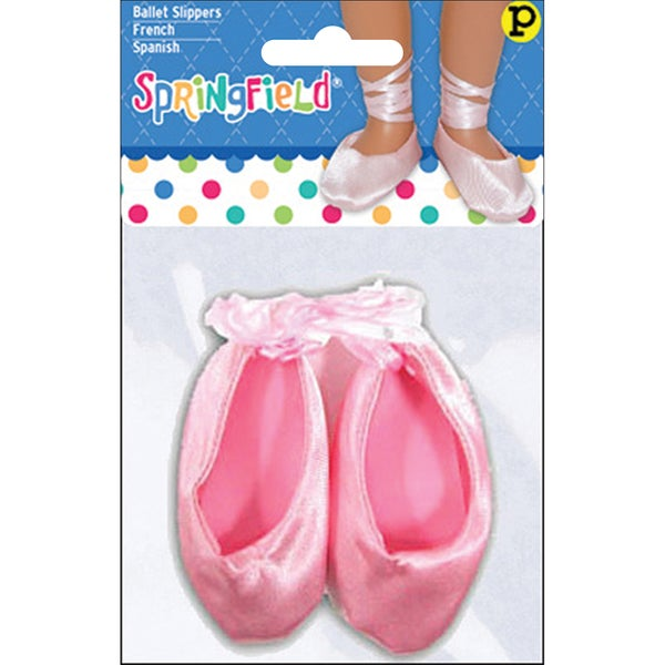 Fibre Craft Springfield Collection Pink Ballet Slippers