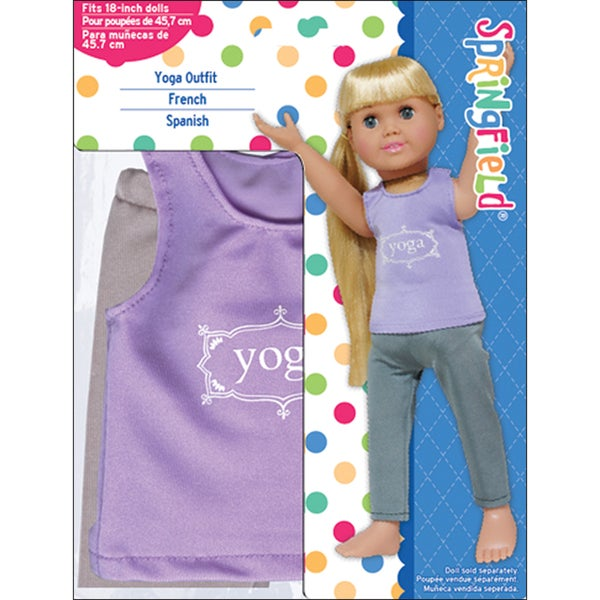 Fibre Craft Springfield Collection Purple/Grey Yoga Outfit