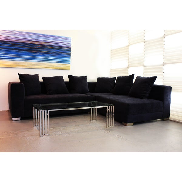 Decenni Custom Furniture 'Giocare' Dark Navy Modular Sofa