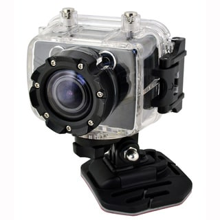 Coleman Bravo Full HD 1080p Action Sports Camera with Removable LCD & 100ft Waterproof Housing