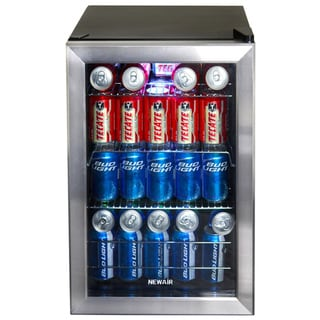 Newair Appliances Stainless Steel Beverage Cooler