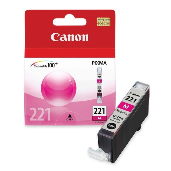 Canon CLI-221 Magenta Ink Cartridge 10147998