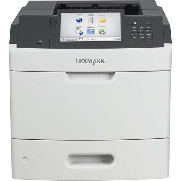 Lexmark MS812DE Laser Printer - Monochrome - 1200 x 1200 dpi Print -