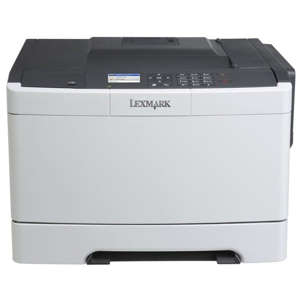 Lexmark CS410N Laser Printer - Color - 2400 x 600 dpi Print - Plain P