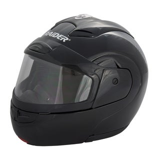 Raider Modular Black Snow Helmet