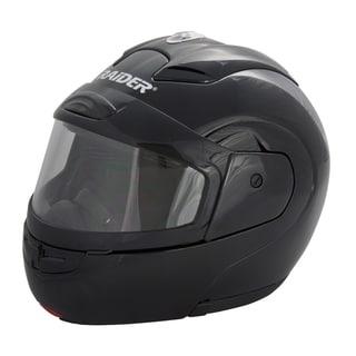 Raider Black Modular Snow Helmet