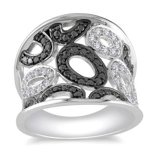M by Miadora Sterling Silver 1/5ct TDW Diamond Ring (H-I, I2-I3)