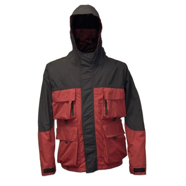 Mossi RX 3 Burgundy Rain Jacket