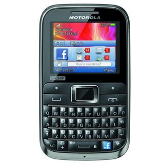 Motorola MOTOKEY EX117 3-Chip GSM Unlocked QWERTY Cell Phone
