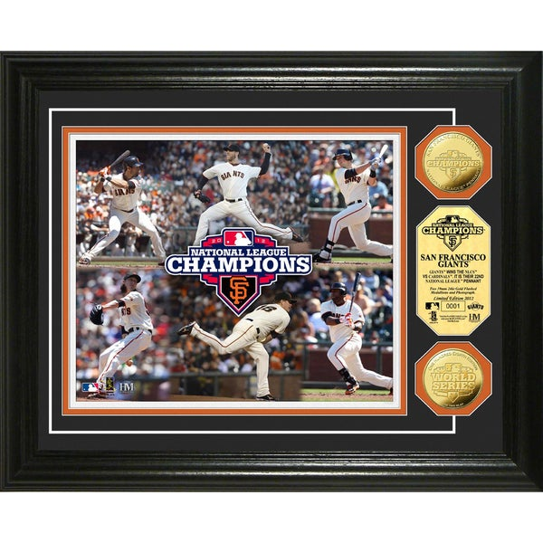 2012 NL Champions Commemorative Gold Coin Photomint