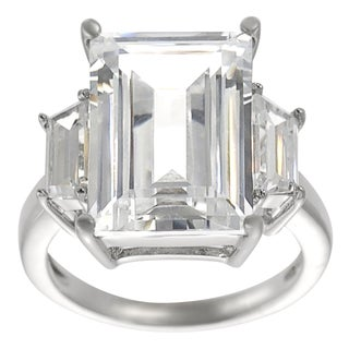 Tressa Collection Cubic Zirconia Bridal-style Ring