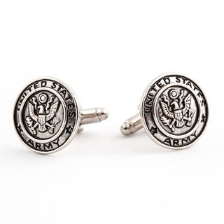 Cuff Daddy Silvertone US Army Cuff Links
