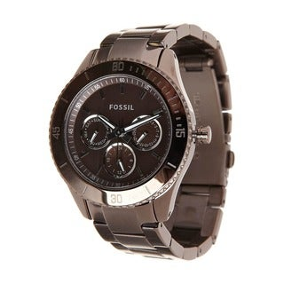 Fossil Women's ES3021 Stella Brown Chronograph Watch