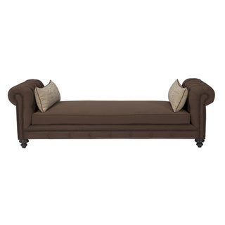 JAR Design 'Alphonse Tufted' Chocolate Daybed