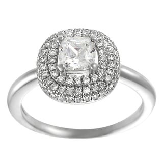 Journee Collection  Sterling Silver Cubic Zirconia Anniversary Ring