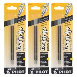 Pilot Dr. Grip Retractable Ballpoint Pen Refills (Pack of 6)