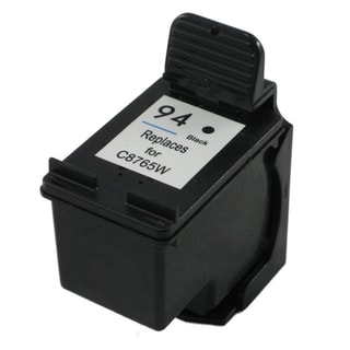 HP 94 C8765WN Black Ink Cartridge (Remanufactured)