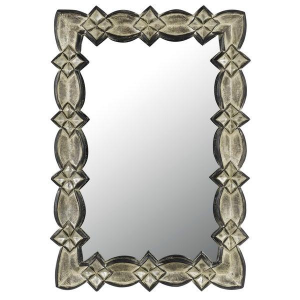Cal Lighting Laconi Rectangular Metal Mirror