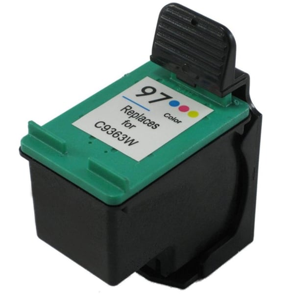 HP 97/ C9363WN Tri-color Ink Cartridge (Remanufactured)