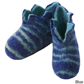 Felted Wool Baby Booties (Nepal)